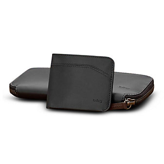 Bellroy Black Leather Carry Out Wallet