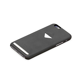 Bellroy Leather i6S Phone Case w/1 Card Holder - Charcoal