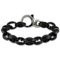 Blackened_Stainless_Steel_Thorn_Link_Bracelet