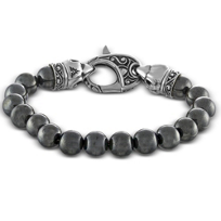 Stelring_Silver_and_Hematite_Bead_Bracelet
