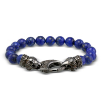 Stephen_Webster_Men's_Lapis_Ravens_Head_Bracelet