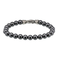 Stephan_Webster_Sterling_Silver_Hematite_Bead_Bracelet