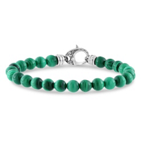 Stephen_Webster_Men's_Sterling_Silver_Malachite_Bead_London_Calling_Bracelet