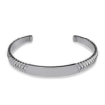 Stephen Webster Men's Sterling Silver Scale Pattern Cuff Bracelet