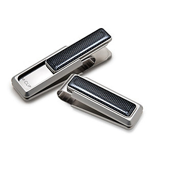M-Clip Ultralight Stainless Steel and Anodized Aluminum Money Clip