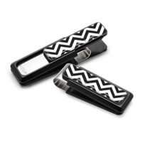 M-Clip_Black_&_White_Chevron_Money_Clip