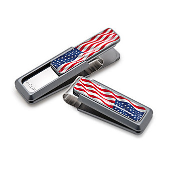 M-Clip Discovery With U.S. Flag Money Clip