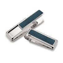 M-Clip_Naturals_Dark_Blue_Shark_Skin_Money_Clip_____________