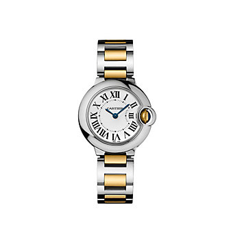 Cartier Ballon Bleu De Cartier Two-Tone Watch, Small Model