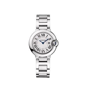 Cartier Ballon Bleu de Cartier Steel Watch, Small Model