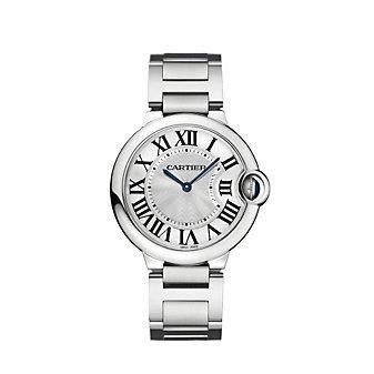 Cartier Ballon Bleu de Cartier Steel Watch, Large Model