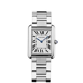 Cartier Tank Solo Steel Watch, Large Model