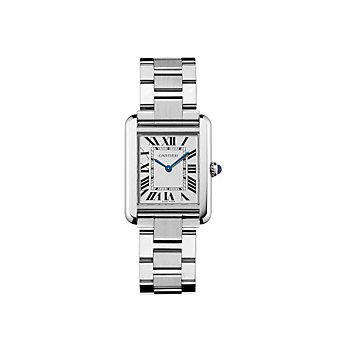 Cartier Tank Solo Steel Watch, Small Model