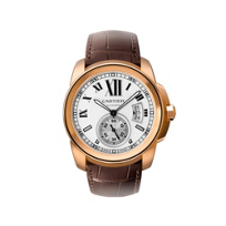 Cartier_Calibre_de_Cartier_18K_Rose_Gold_Watch,_Large_Model