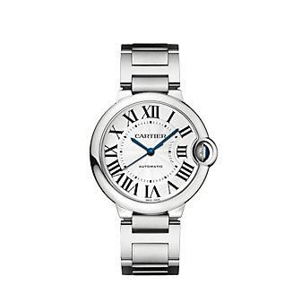 Cartier Ballon Bleu de Cartier Steel Watch, 36 mm
