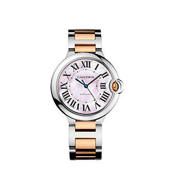 Cartier Ballon Bleu de Cartier Two-Tone Watch, 36 mm