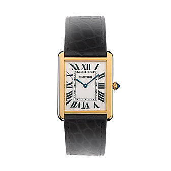 Cartier Tank Solo 18K Yellow Gold Watch, Large Model