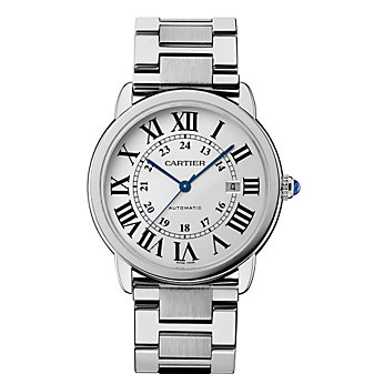 Cartier Ronde Solo de Cartier Steel Watch, Extra Large Model