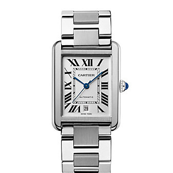 Cartier Tank Solo Steel Watch, Extra Large Model