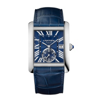 Cartier_Tank_MC_Steel_and_Blue_Leather_Men's_Watch_