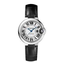 Cartier_Ballon_Bleu_de_Cartier_Steel_and_Black_Leather_Watch,_Small_Model