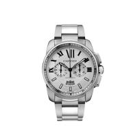 Cartier_Calibre_de_Cartier_Chronograph_Steel_Watch,_Large_Model