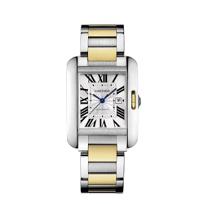 Cartier_Tank_Anglaise_18K_Yellow_Gold_and_Steel_Watch,_Large_Model