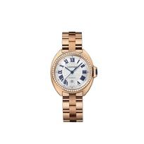 Cartier_Cle_de_Cartier_18K_Rose_Gold_and_Diamond_Bezel_Watch,_31mm
