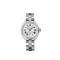 Cartier_Cle_de_Cartier_18K_White_Gold_and_Diamond_Bezel_Watch,_31mm