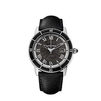 Cartier Ronde Croisiere de Cartier Steel Watch, 42mm