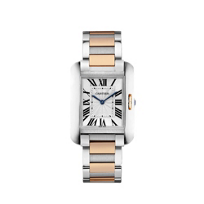 Cartier_Tank_Anglaise_18K_Rose_Gold_and_Steel_Watch,_Medium_Model