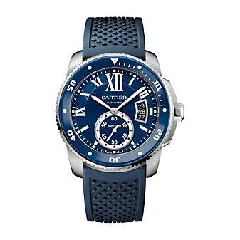 Cartier Calibre de Cartier Diver Steel Blue Watch, 42mm