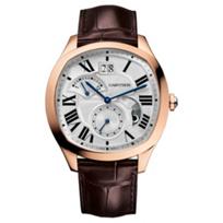 Cartier_Drive_De_Cartier_Watch_-_18K_Pink_Gold_&_Brown_Leather