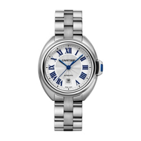 Cartier_Cle_de_Cartier_Steel_Blue_Numeral_Watch,_31mm_Small_Model