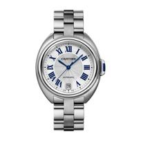 Cartier_Cle_de_Cartier_Steel_Blue_Numeral_Watch,_35mm_Medium_Model