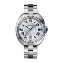 Cartier_Cle_de_Cartier_Steel_Blue_Numeral_Watch,_40mm_Large_Model