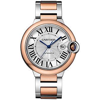 Cartier Ballon Bleu De Cartier Watch - 42MM, In 18K Pink Gold & Steel