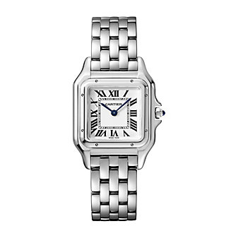 cartier panthere de cartier watch - steel