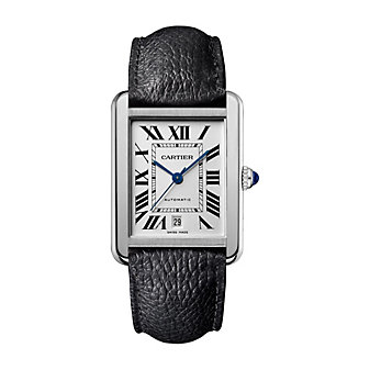 cartier tank solo men's watch - extra large