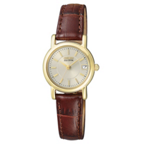 Citizen_Yellow_Tone_and_Stainless_Steel_Ladies'_Strap_Watch