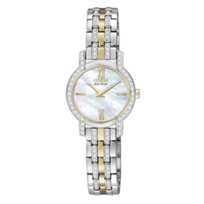 Citizan_Silhouette_Women's_Bracelet_Watch,_Two_Tone