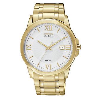 Citizen Men's Bracelet Gold Tone Watch