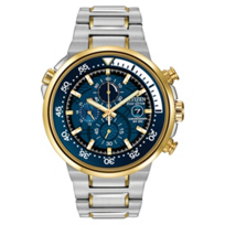 Citizen_Endeavor_Chronograph_Watch,_Blue_Dial