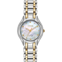 Citizen_Silhouette_Mother_of_Pearl_Two-Tone_Round_Watch