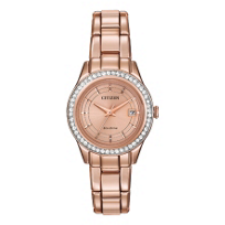 Citizen_Silhouette_Crystal_Rose_Gold-Tone_Watch,_Embellished_Dial