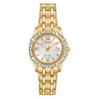 Citizen_Eco-Drive_Ladies'_Diamond_Gold-Tone_Stainless_Steel_Watch