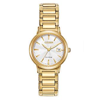 Citizen Eco-Drive Silhouette Sport Ladies' Gold-Tone Watch
