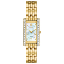 citizen_eco_drive_silhouette_crystal_yellow_tone_rectangular_dial_watch