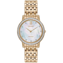 citizen_eco_drive_silhouette_crystal_yellow_tone_watch