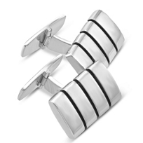 Sterling_Silver_Rectangular_Cufflinks